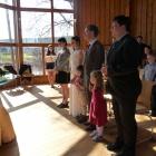 Obřad v kapli sv. Anežky