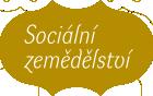 Sociální zemědělství logo